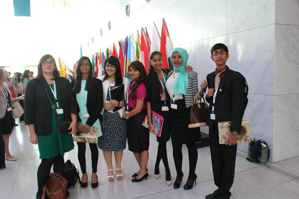 Team at OMUN-Maahir