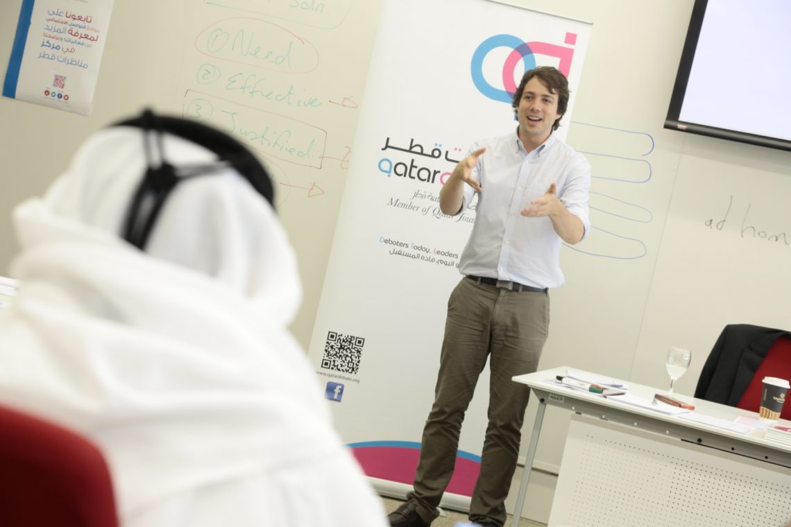 QLC 16′ – An Interview with Qatar Debate Instructor, Alex De Jager