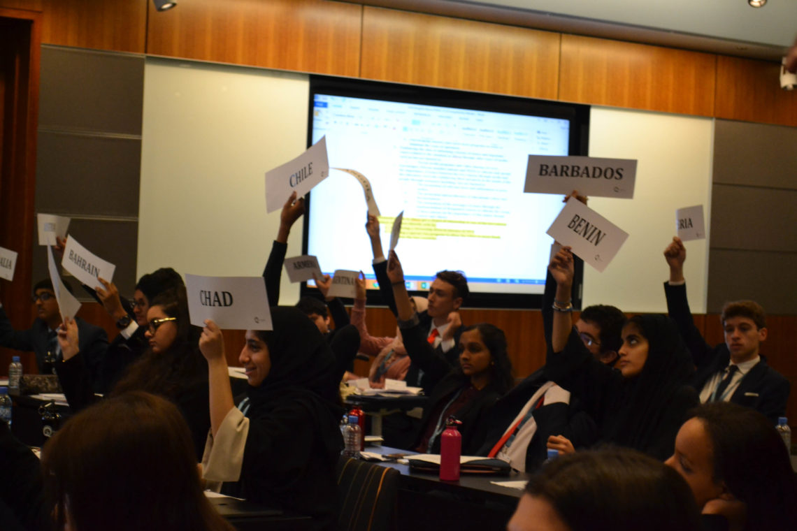 Agenda for THIMUN Qatar 2018 Announced