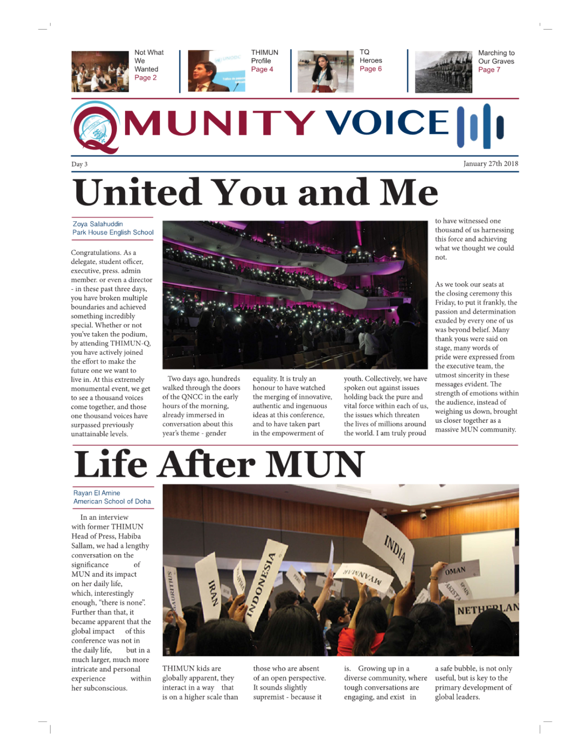 QmunityVoice TQ18 – Final Issue