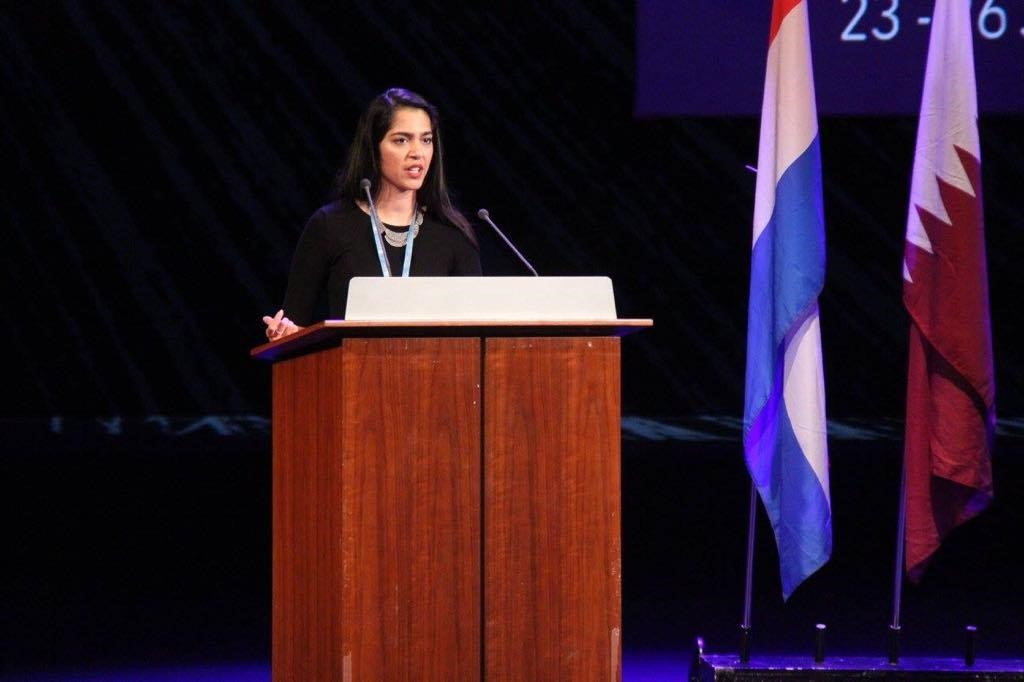 DSG Sanskriti Tandon Closes out THIMUN Qatar 2018